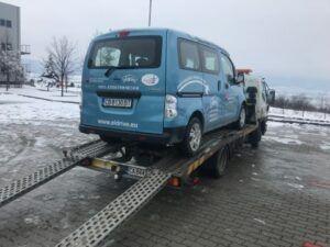 NISSAN ENV 200 - Бус на ток, икономично.. - Пътна помощ 0878424097