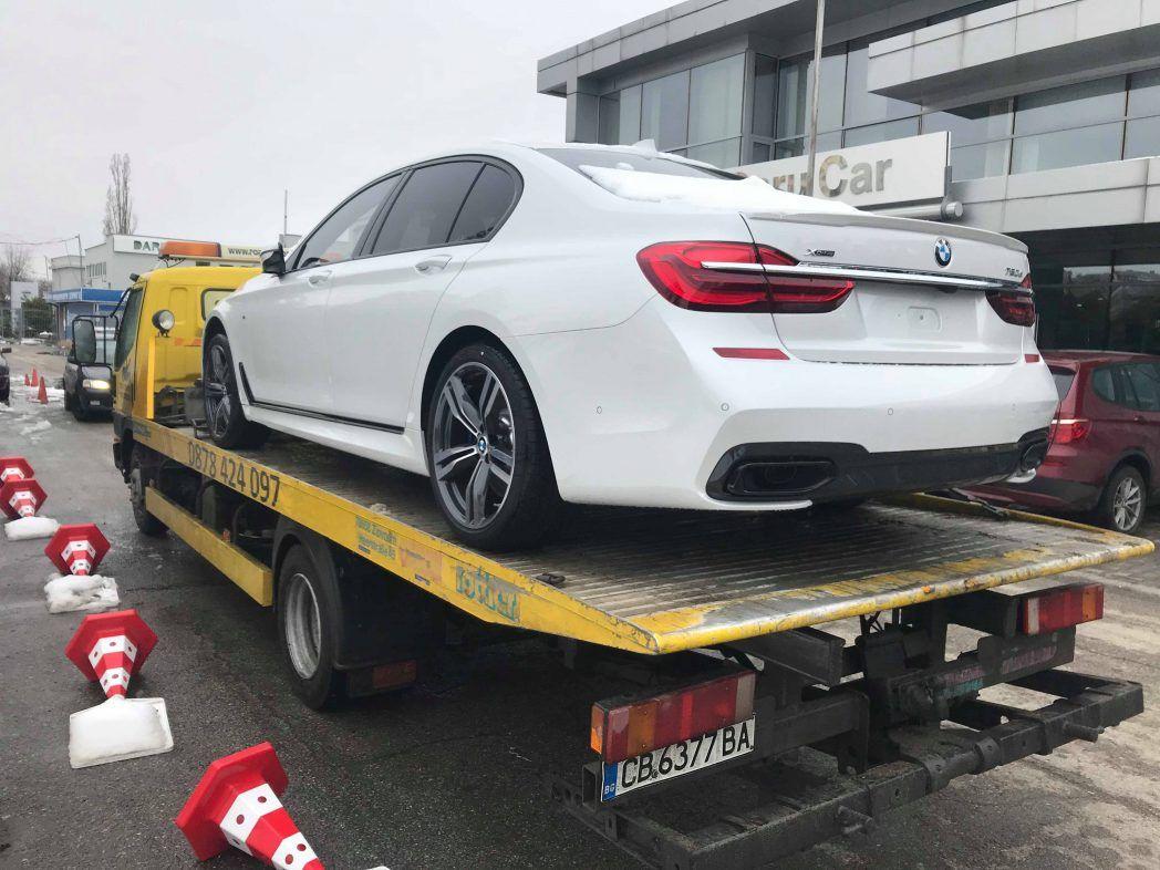 Чисто ново BMW 750d xDrive - Пътна помощ 24/7