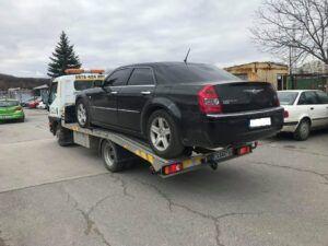 Брониран Chrysler 300c CRD на НСО Пътна помощ - 0878 424 097