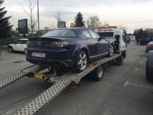 Пътна помощ - mazda mx6