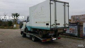 камион мерцедес - пътна помощ софия