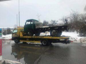 камион на пътна помощ софия