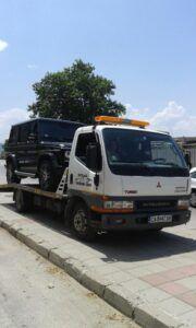 пътна помощ - джип Mercedes G