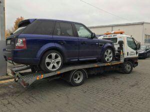 пътна помощ - Range Rover