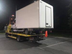чисто нов камион Iveco - пътна помощ