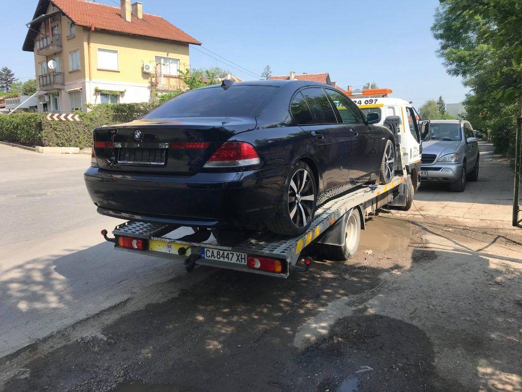 Поредно BMW 7 за регистрация в КАТ - Пътна помощ Тел.: 0878 424 097