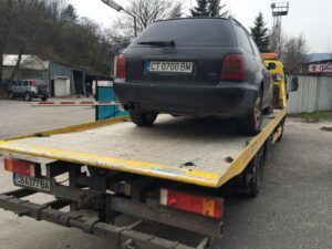 Audi A4 - репатрак