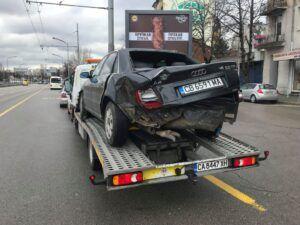 Audi A4 V6 Quatro - катастрофа - репатриране