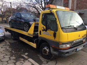BMW - пътна помощ - репатрак