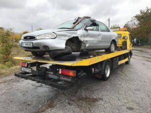 Ford Mondeo катстрофа - пътна помощ