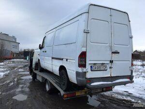 Mercedes бус - репатрак