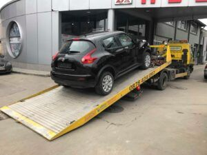Nissan Quashkai - джип - пътна помощ
