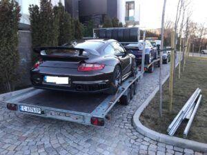 Porsche 911 GT - превоз за състеPorsche 911 GT - превоз за състезание в Серес 1зание в Серес 1