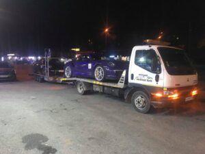 Porsche 911 GT - превоз за състезание в Серес 2 7