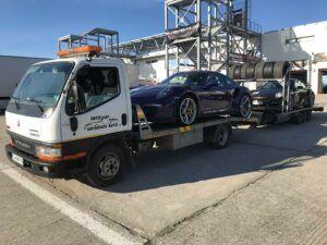Porsche 911 GT - превоз за състезание в Серес 3
