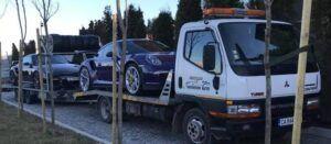Porsche 911 GT - превоз за състезание в Серес