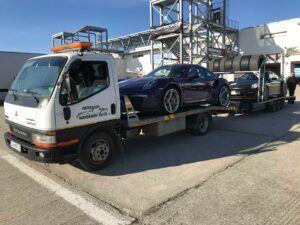 Porsche 911 GT - превоз за състезание в Серес 5