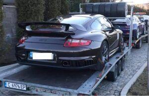 Porsche 911-gt2 - пътна помощ - серес гърция