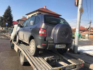 Renault джип - пътна помощ