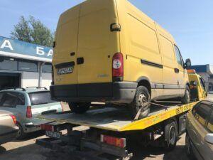 Renault Master бус рпатриране