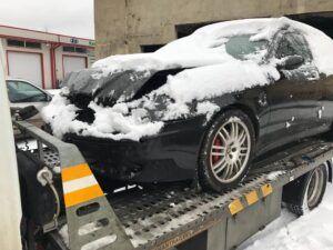 opel corsa катастрофа - пътна помощ