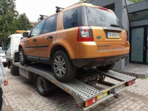 Land Rover - повреден двигател, превоз до сервиз - Пътна помощ
