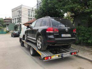 Превоз на МПС джип VW Touareg V6 - Пътна Помощ 24/7 RoadHelp.bg