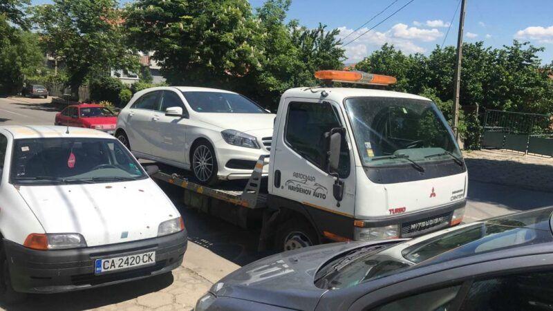 Поредния нов автомобил на път за новия си дом - Mercedes - Пътна