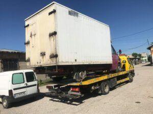 Репатриране на повреден камион - Пътна Помощ 24/7 RoadHelp.bg