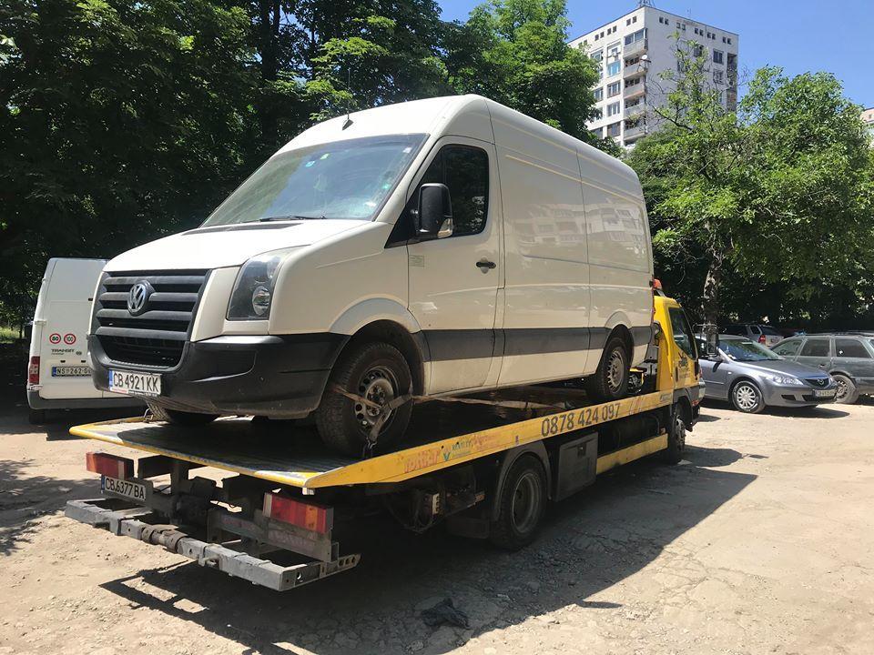 Превоз на VW бус - Пътна Помощ 24/7 RoadHelp.bg