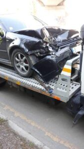 Катасррофа в София - Пътна Помощ 24/7 RoadHelp.bg - VW CLub