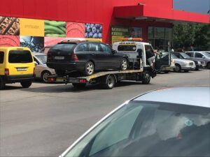 Репатрак София - превоз на комби Mercedes до сервиз - Пътна Помощ