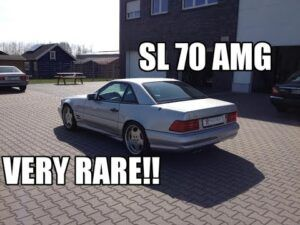 Mercedes-Benz SL70 AMG - Пътна помощ Блог