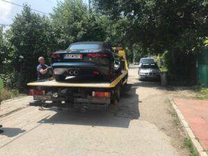 Jaguar F-Type 2014 към втория си дом - Пътна Помощ, Репатрак София Тел.: +359 878 424 097