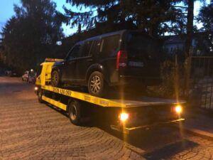 Джип Land Rover - Пътна помощ, репатрак - София