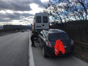 Репатриране на 2 МПС - Пътна помощ София