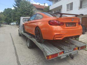 Пътна помощ за BMW M4 Competition