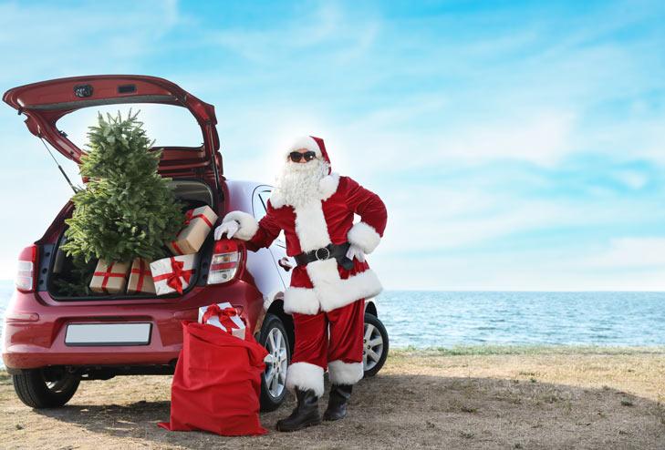 Коледа на пътя