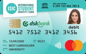 ISIC DskBank Card