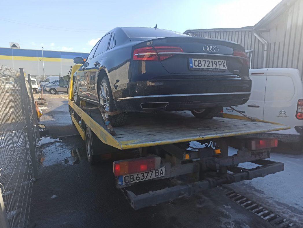 Audi S8 W12 Long